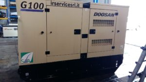 Generatore Doosan G100 Air Service
