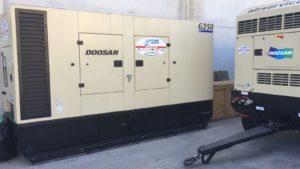 Generatore Doosan G250 Air Service