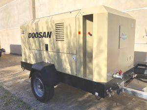 compressore doosan portable power 12/155