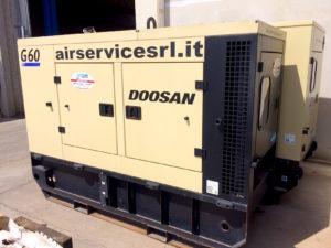 Generatore Doosan G60