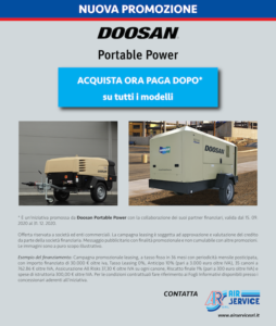 air service leasing doosan portable power
